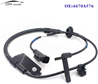 Mathenia Car Parts, 4670A576 Front Right ABS Wheel Speed Sensor for Mitsubishi Pajero Lancer Outlander Asx