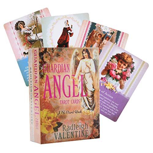 planuuik 78pieces Guardian Angel Tarot kaarten volledige Engels begeleiding waarzeggerij lot spel dek