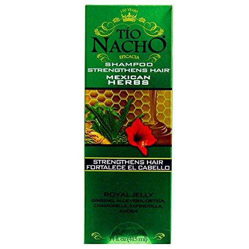 TIO NACHO Mexican Herbs Shampoo 14 oz (Pack of 3)