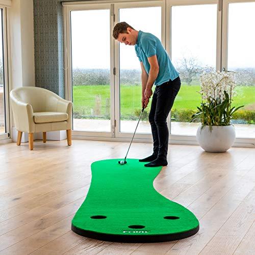 FORB Alfombra de Putting para Entrenamientos de Golf (Variedad de Estilos &...