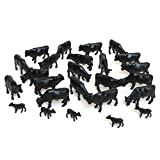ERTL Black Angus Cows (Pkg. of 25) 1:64 Scale
