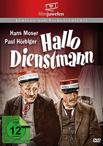 Hallo Dienstmann - mit Hans Moser (Filmjuwelen)