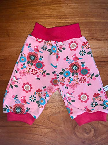 Pumphose Short Knickerbocker French Terry Sommersweat Größe 50-164