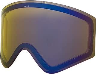 electric eg2 yellow blue chrome lens