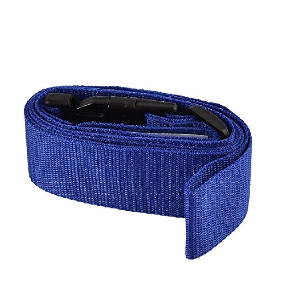 自治的小道蜂DealMuxプラスチック製クラスプナイロンベルト荷物スーツケース調節可能なバックルストラップ2インチ幅