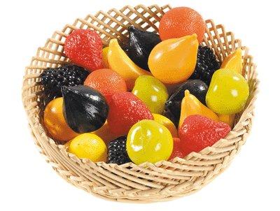 Fruit Plastique Assorti - Sachet De 24 [Jouet]