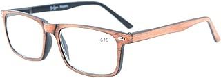 Eyekepper Reading Glasses Mens Women Stylish Look Grystal Vision comfort Spring Hinges