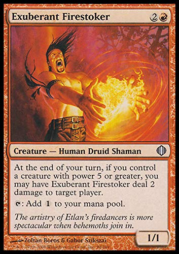 Magic The Gathering - Exuberant Firestoker - Shards of Alara