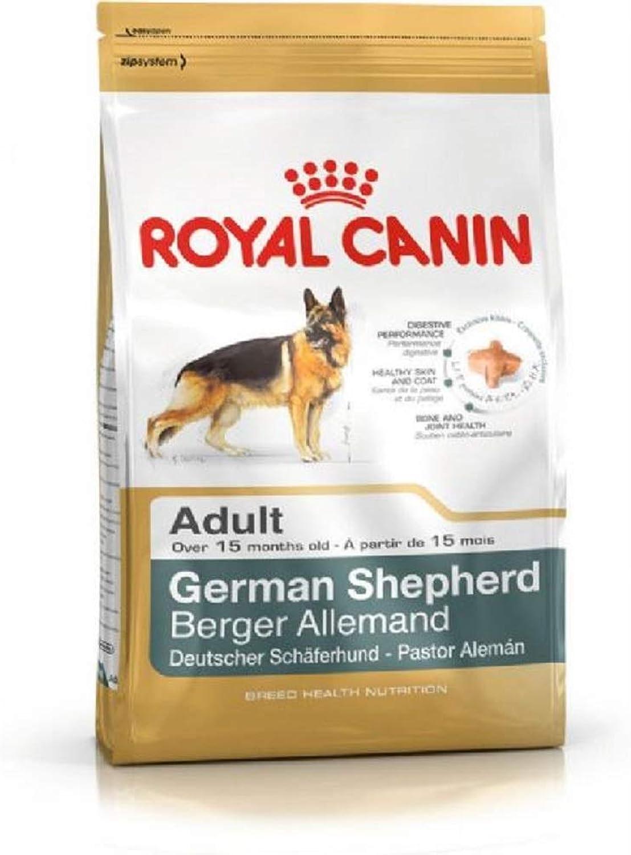 PaylesswithSS Royal Canin Breed Health Nutrition German Shepherd Adult Dry Dog Food (12kg)