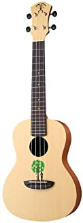 Miiliedy 23 pulgadas. Lemon Tree Pattern Ukulele Niño adulto Practique tocando una guitarra pequeña de cuatro cuerdas con un paño de pulir. Bolsa de concierto. Cuerdas de repuesto para que disfrute de