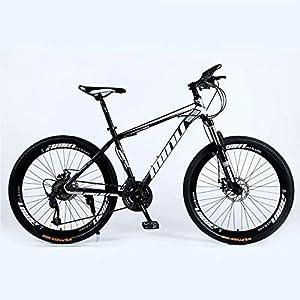 6 cortadores Rueda Negro Novokart-Mountain Bike Unisex Bicicletas monta/ña 21//24//27 Pulgadas Mujer con Asiento Ajustable Frenos de Doble Disco MTB para Hombre
