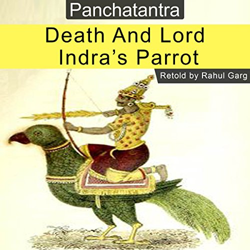 Death and Lord Indra's Parrot audiobook cover art