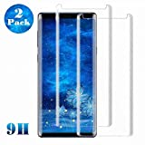 Galaxy S8 Plus Screen Protector [2-Pack], Tempered Glass Screen...