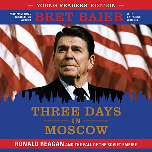 Three Days in Moscow Young Readers' Edition audiobook cover art