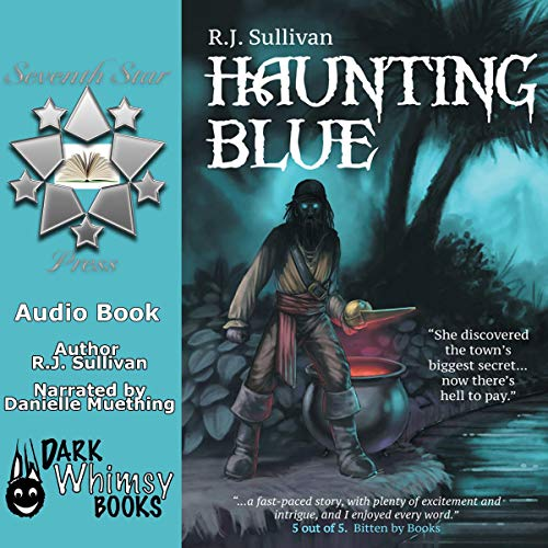 Haunting Blue audiobook cover art
