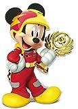 ALMACENESADAN 0861; Super Silueta Disney Mickey Mouse; Producto de cartón; Dimensiones 90x60 cm