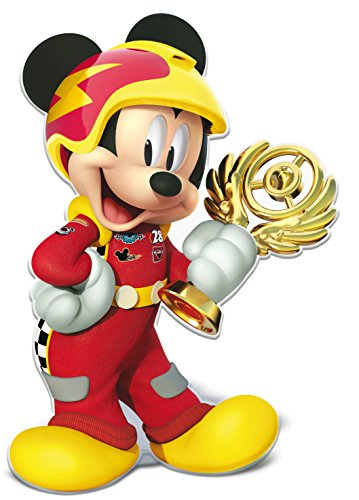 ALMACENESADAN 0861; Super Silueta Disney Mickey Mouse; Producto de cartón; Dimensiones 90x60...