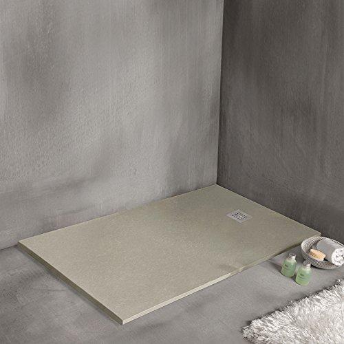 Sanycces Strato douchebak, 160 x 90 cm, extra plat