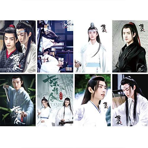 Sahalo Chen Qing Ling The Untamed Plakat Wei Wuxian LAN Zhan TV-Dramaplakat Mo Dao Zu Shi