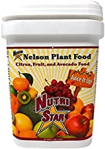 Nelson Citrus Fruit and Avocado Tree Plant Food In Ground Container Patio Grown Granular Fertilizer NutriStar 12-10-10 (15 LB)