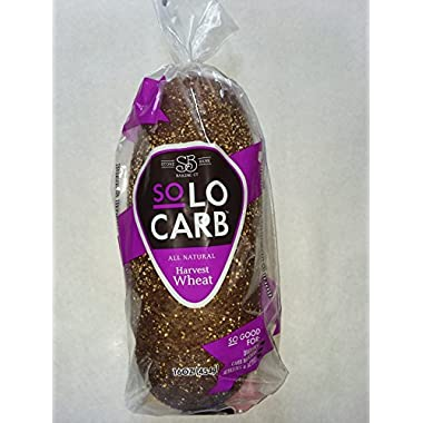 SoLo Carb Bread Harvest Wheat (3 Loaves per Order)