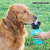 InnovaGoods | Botella de agua para perros | Bebedero dispensador portátil | Azul