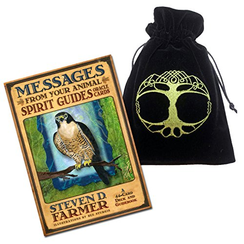 HayHouse Publications Unisex-Kinder Animal Spirit Guide Oracle Deck and Tree of Life Münzbörsen, Mehrfarbig (Multicolour), One Size