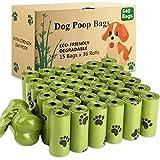SaiXuan 540 pezzi/36 Rotoli Sacchetti per Cani, Dog Poop Sacchetti biodegradabili Dog Sacchetti di rifiuti con Dispensers, Extra Spesso a Prova di perdite Dog Poo Bags