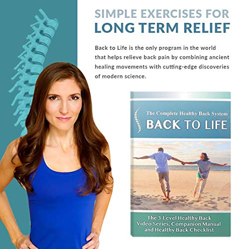 Back to life: The complete healthy back system DVD - 3 phase workout program