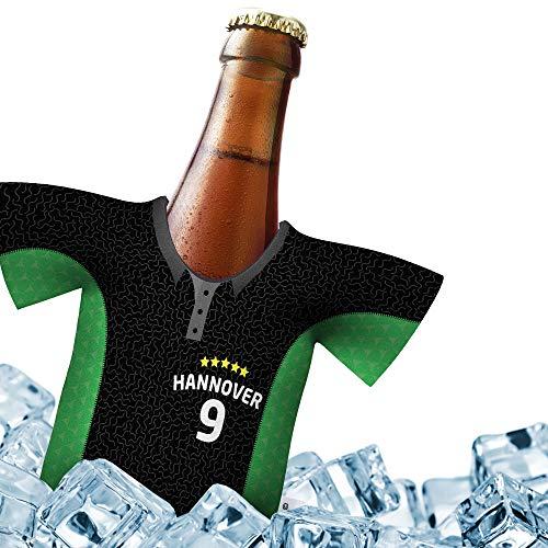 Fan-Trikot-kühler Home für Hannover 96 Fans   DRIBBEL-KÖNIG   1x Trikot   Fußball Fanartikel Jersey Bierkühler by Ligakakao