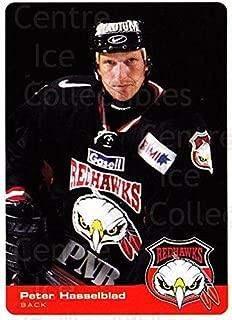 (CI) Peter Hasselblad Hockey Card 2002-03 Swedish Malmo Redhawks Team Issue 4 Peter Hasselblad
