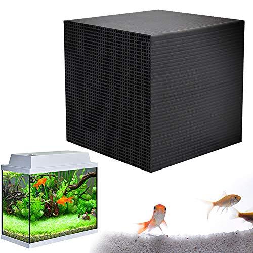 KEKEDA Eco-Aquarium Waterzuiverer kubussen Fish Tank Geactiveerde Koolstofwaterreiniger Filter voor Aquariumvissen Tanks/Vijvers