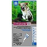 K9 Advantix Flea Control for Dogs Over 55 Pounds (4 Applications) by K-9 Advantix
