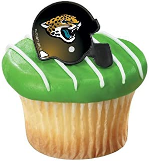 jacksonville jaguars cake topper
