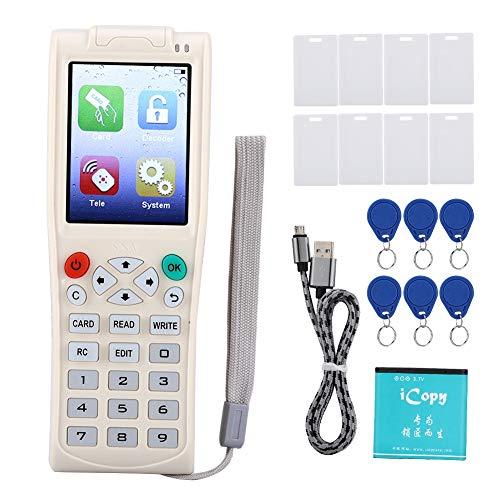 VERTIGO RFID NFC IC/ID Lesekopierer 125 kHz - 13,56 MHz UID Schlüssel Chipkarte Schlüssel Duplicator mit vollständiger Decodierungsfunktion, unterstützt Fast alle leeren Kopierkarten