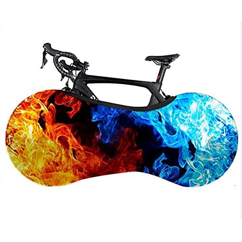 DUXIUYING Cubierta de Rueda de Bicicleta 57 * 21.6/60.6 * 24.4in Cubierta de Bicicleta de montaña Interior Cubierta de Almacenamiento de Antipolvo para Bicicleta de Carretera,60.6 * 24.4in