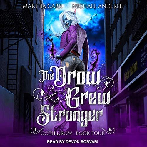 『The Drow Grew Stronger』のカバーアート