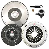 350z stage 2 clutch and flywheel - ClutchMaxPRO Performance Stage 2 Clutch Kit & Flywheel with Slave Cylinder Compatible with 2007-2018 Nissan 370Z Infinity G37 VQ35HR VQ37VHR (CP06082HDWS-FW167332-ST2)