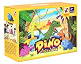 Sunlite Dino Adventure Table top Board Game Trains Social Skills, Concentration and Focus
