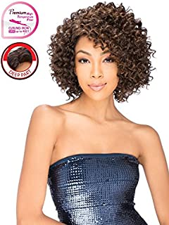 Vella Vella wig Style Kate Heat Resistant Premium Fiber (1 Jet Black)