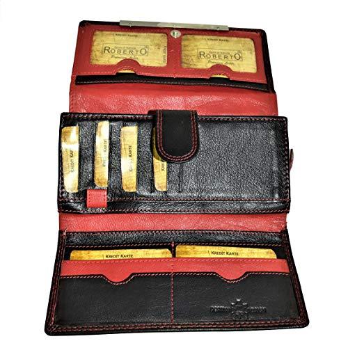 Flevado Roberto Nappa buffel leer dames portefeuille handgemaakt fijn zacht leer