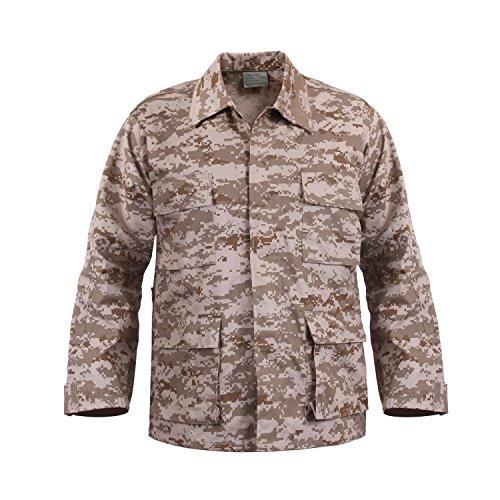 ロスコ BDU シャツ ジャケット/ROTHCO B.D.U. SHIRTS (L, デザートデジカモ(DDC))