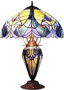 Graf von Gerlitzen Tiffany Stand Tisch Lampe Tischlampe Tiffanylampe GN229