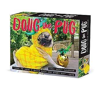 Doug the Pug 2022 Box Calendar Daily Desktop
