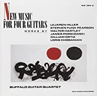 New Music for Four Guitars by BUFFALO GUITAR QUARTET (1992-12-08)