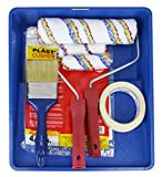 KIT Rodillo de pintura Antigoteo + Brocha + Mini rodillo y recambio +...
