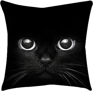 Kissen Kissenbezüge Quadrat Baumwoll Leinen Mischung Kissenbezug für Haus Schlafzimmer Sofa Sessel Deko