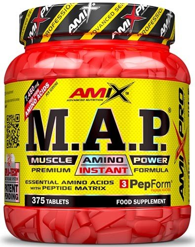 AMIX MAP MUSCLE AMINO POWER (375 TABS)