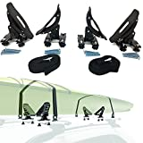 Car Rack & Carriers Universal Saddles Kayak Carrier Canoe Boat. Surf Ski Roof...