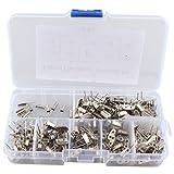 200pcs 10Valor 32.768kHz ~ 48mhz DIY cristal de cuarzo Oscilador Assorted Kit Set Surtido con caja de plástico